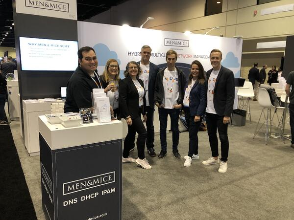 The Men&Mice team at Microsoft Ignite 2019