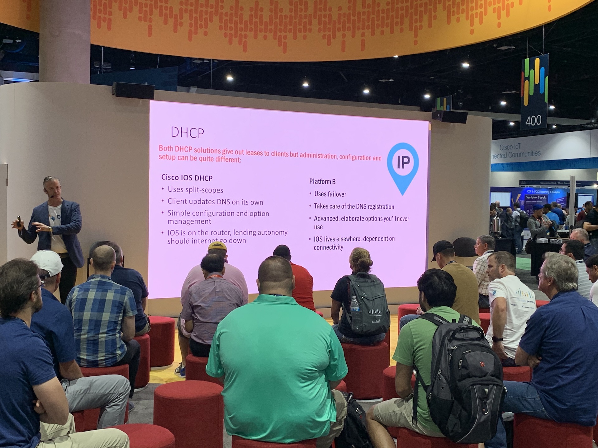 Men & Mice at Cisco Live 2019: Wired for Change